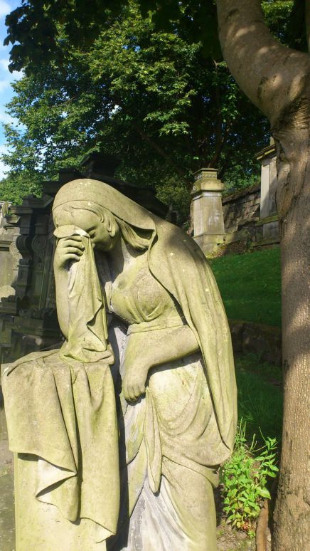 Crying angel, crying, grave, tears, necropolis